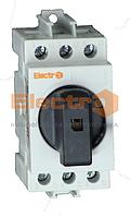 Рубильник модульный РБМ 3P 25А I-0 230/400B Electro