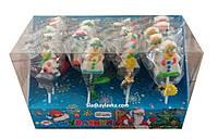 Желейная конфета Снеговик на палочке 20 шт (Жувасики)