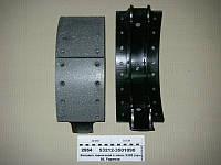 Колодка тормозная с накл. 5320 (пр-ва КАМАЗ), 53212-3501090