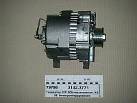 Генератор 28V 80A под поликлин. КАМАЗ Евро-2, -3 (Ржев), 3142.3771
