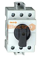 Рубильник модульный 3P 63А I-0 230/400B Electro