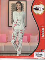Пижама женская Батальные размеры с брючками