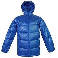 Мужская куртка Columbia GOLD 650 TURBODOWN™ HOODED DOWN JACKET ярко-синяя WM5430 438