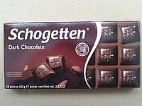 Шоколад черный Schogetten Dark Chocolate 100 г. Шогеттен