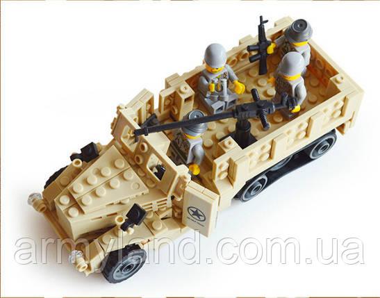 Набор М2 Halftrack техника второй мировой войны ( Lego), фото 2