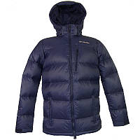 Мужская куртка Columbia GROOMED POWDER™ DOWN JACKET темно-синяя XM5389 464
