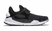 Кроссовки  Nike Sock Dart Black And White