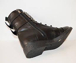 Кожаные зимние ботинки Aquamarine 933-12, фото 3