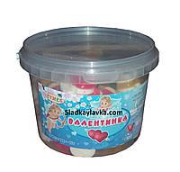 Желейная конфета Сердце Валентинка 600гр (Cymes)