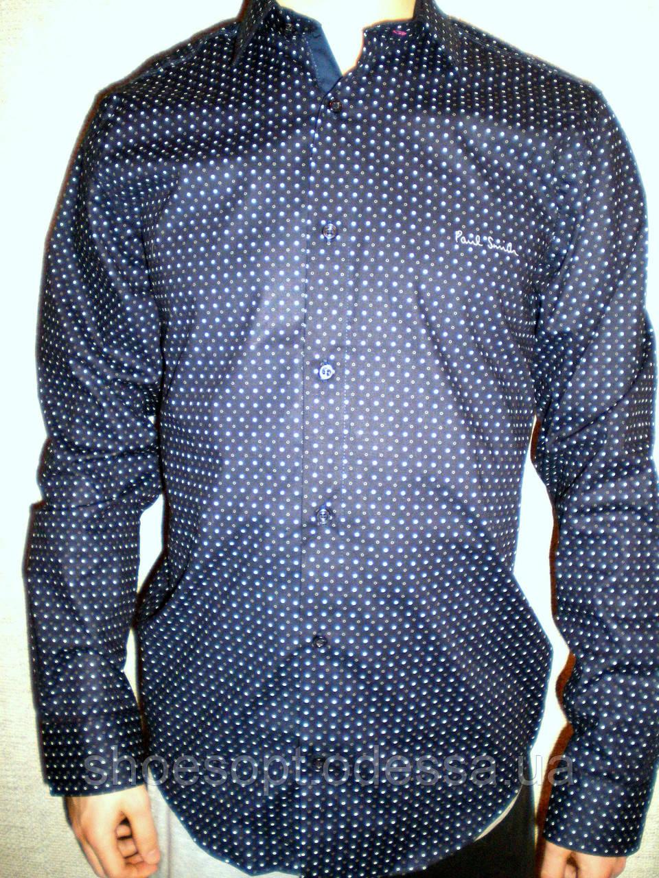 0b872bbeab7b Рубашка Paul Smith синяя модная длинный рукав Турция: продажа, цена ...
