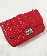 Женская сумка MISS DIOR FLAP BAG RED (2264)