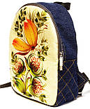 Рюкзак петриковская роспись, фото 2