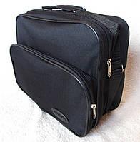 Мужская сумка через плечо барсетка деловая 32х24х15см