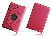 Вращающийся розовый чехол для ASUS FonePad ME372CG(ME373) из синтетической кожи.
