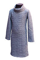 Подростковое платье Роксана  светло серый р 134-152