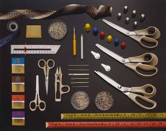 Ножиці, вспарыватели, шила, голки швейні і машинні