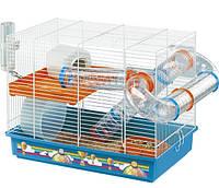 Клетка для хомяков Ferplast Лаура LAURA DECOR с декоративным рисунком, в комплекте с туннелями
