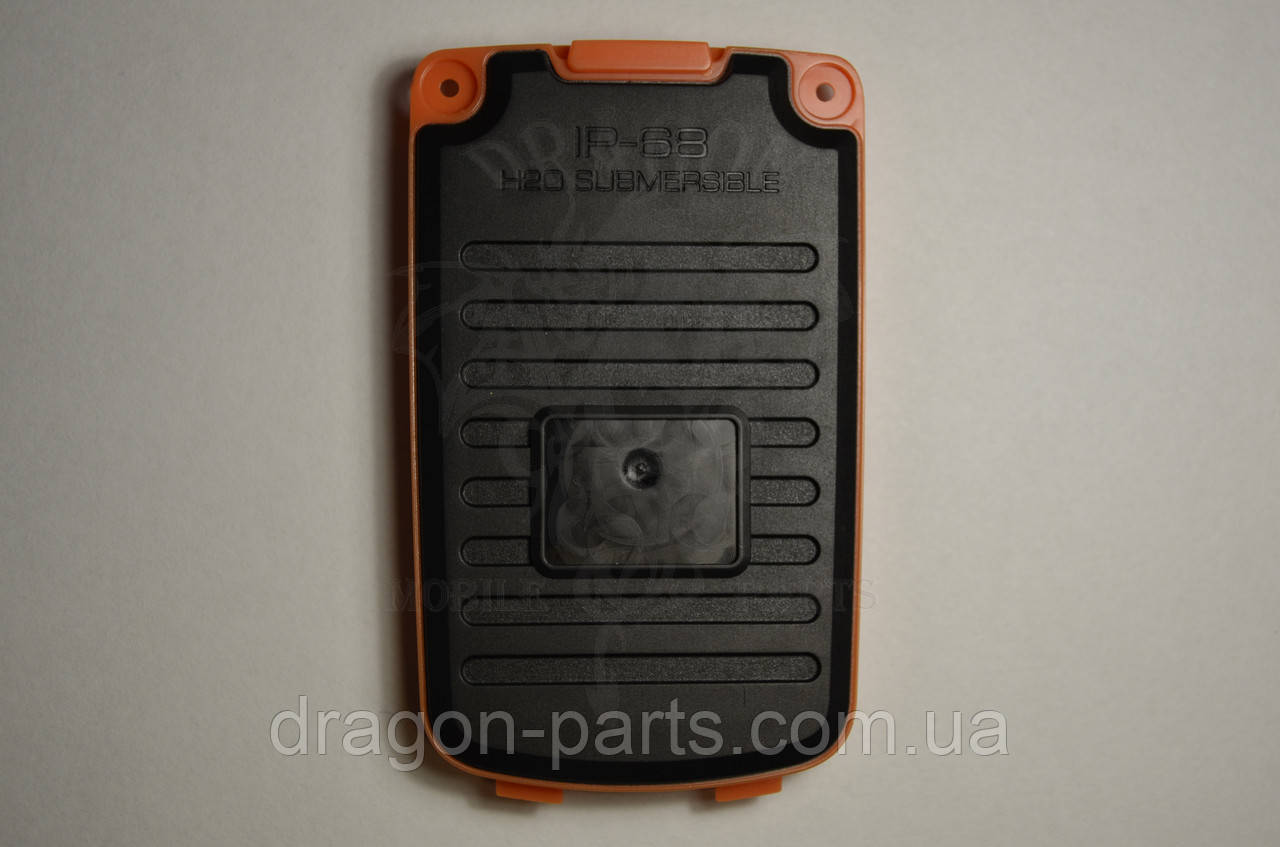 Задняя крышка  Nomi i242 X-treme оранжевая, оригинал