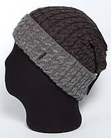Мужская вязаная шапка-колпак  «Jazz UniX»