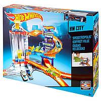 Трек Mattel  Hot Wheels Трек Большой город (CDL36)