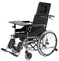 Специальная инвалидная коляска, стабилизирующая голову и спину с функцией туалета Vitea Care VCWK7T