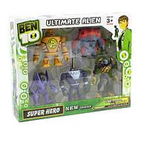 Ben10 5 светящихся фигурок 5 серии