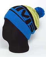 Удлиненная спортивная шапка с помпоном «Jastin UniB»