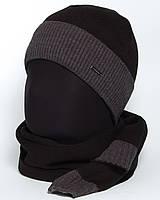 Комплект шапка и шарф для мужчин Classic 2