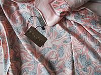 """Платок """"Gucci""""  нежно-розовый"""