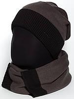 Комплект шапка и шарф для мужчин Classic 2 Unix