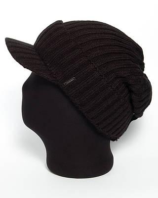 Мужская вязаная кепка «Caps 2 unix».