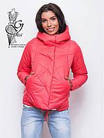 Куртка весенняя молодежная женская Киви-3