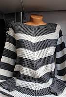 Свитера женский,полосатый удлиненый, купить свитер женский оптом,ER 1053 SJ-0017