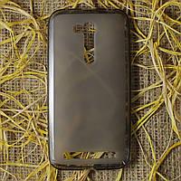 Чехол-крышка для Asus ZenFone Go ZB452KG Чёрный/Прозрачный Silicon