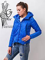 Куртка весенняя молодежная женская Киви-1