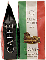Кофе в зернах Italiano Vero Roma 1кг 50/50