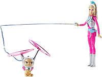 Кукла Mattel Barbie и космический котик из м/ф Звездные приключения (DWD24)