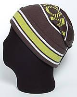 Мужская вязаная шапка-колпак  «Auris UniX»