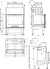 Каминная топка аква Haas+Sohn Vesuvio 20., фото 4
