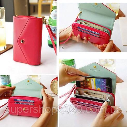 Жіночий гаманець Сrown Red