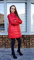 Куртка женская Колокольчик  красная