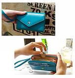 Жіночий гаманець Crown Blue, фото 2