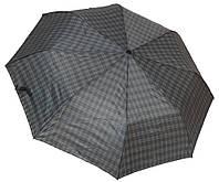 Красивый мужской зонт полуавтомат 3112 крючок