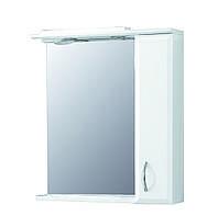 """Зеркало-шкаф настенный в ванную """"Фокус"""" 60х80"""