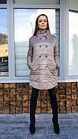 Куртка женская Колокольчик пудра