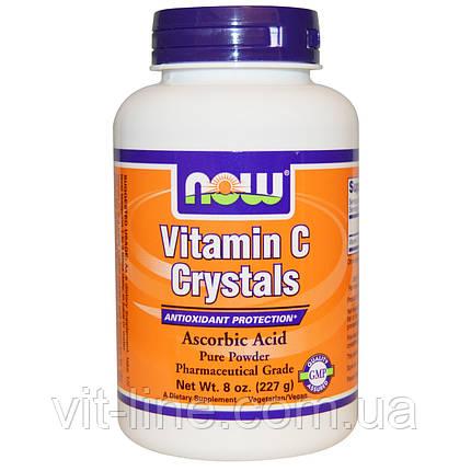 Now Foods, Витамин C в кристаллах (227 г), фото 2