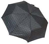 Красивый мужской зонт полуавтомат 3112/1 крючок