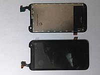 Дисплей  (экран) HTC Desire 310 (Dual Sim, длинна сенсора-129мм) с черным сенсором original.