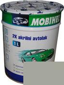 Автокраска (автоэмаль) Mobihel акрил 0,1л 671 Светло Серая.