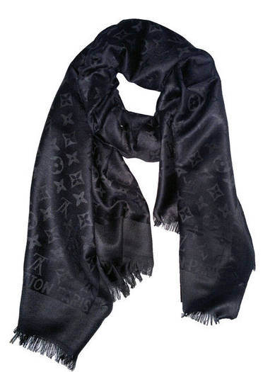 Палантин Louis Vuitton (Луи Витон) серый